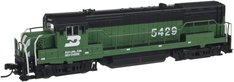 N Scale - Atlas - 40 000 581 - Locomotive, Diesel, GE U25B - Burlington Northern - 5418