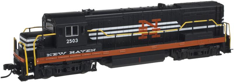 N Scale - Atlas - 40 000 599 - Locomotive, Diesel, GE U25B - New Haven - 2503