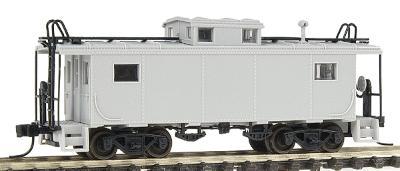 N Scale - Atlas - 50 002 504 - Caboose, Cupola, Steel, NE - Undecorated