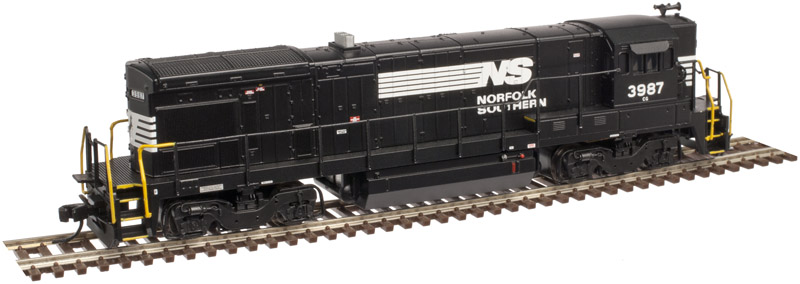 N Scale - Atlas - 40 002 384 - Locomotive, Diesel, GE B23-7 - Norfolk Southern - 3975