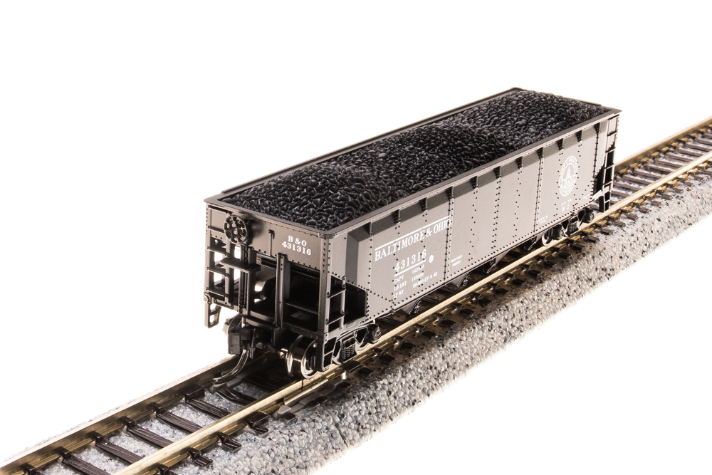 N Scale - Broadway Limited - 3181 - Covered Hopper, 3-Bay, ARA 70 Ton - Baltimore & Ohio