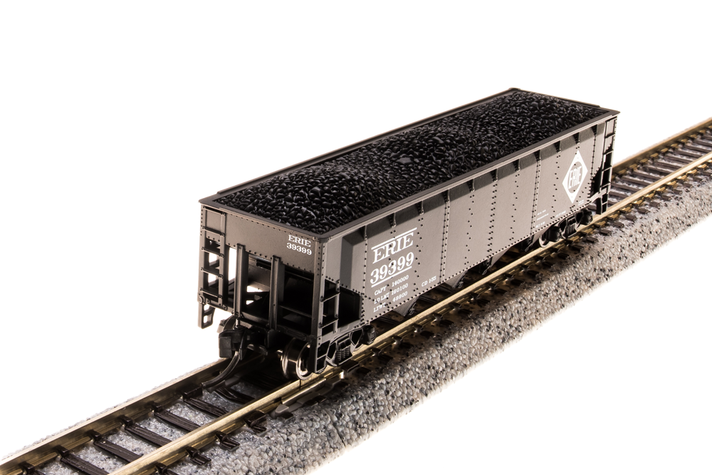 N Scale - Broadway Limited - 3192 - Covered Hopper, 3-Bay, ARA 70 Ton - Erie