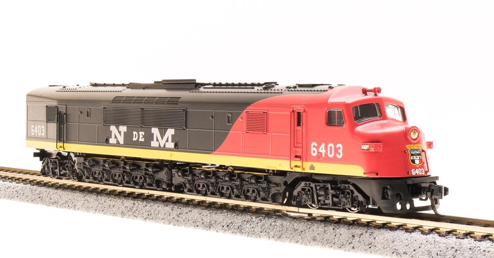 N Scale - Broadway Limited - 3149 - Engine, Diesel, Centipede - Ferrocarriles Nacionales de México - 6406