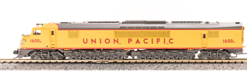 N Scale - Broadway Limited - 3152-PART - Engine, Diesel, Centipede - Union Pacific - 1600A