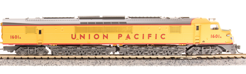 N Scale - Broadway Limited - 3152-PART - Engine, Diesel, Centipede - Union Pacific - 1601A