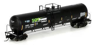 N Scale - Athearn - 24342-PART - Tank Car, Single Dome, UTLX 30K Ethanol - Renewable Energy Group - 32499