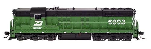 N Scale - Atlas - 53614 - Locomotive, Diesel, EMD SD7 - Burlington Northern - 6002