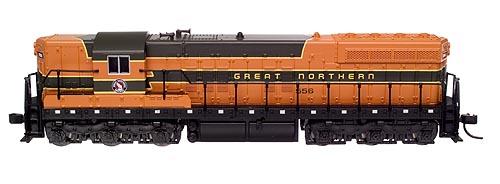 N Scale - Atlas - 53647 - Locomotive, Diesel, EMD SD7 - Great Northern - 563