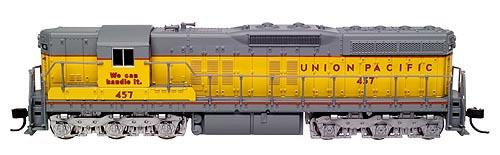 N Scale - Atlas - 53649 - Locomotive, Diesel, EMD SD7 - Union Pacific - 457