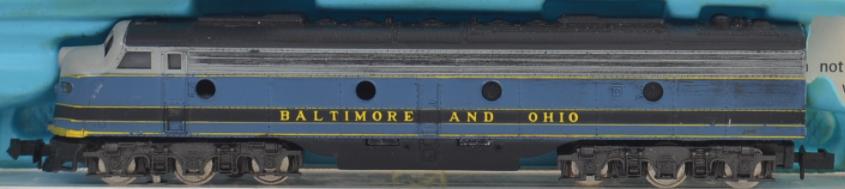 N Scale - Atlas - 2102 - Locomotive, Diesel, EMD E8 - Baltimore & Ohio