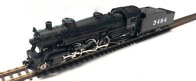 N Scale - Atlas - 2116 - Locomotive, Steam, 4-6-2, Pacific - Santa Fe - 3484