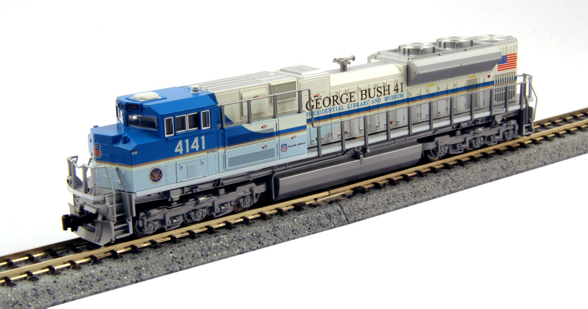 N Scale - Kato USA - 176-8411 - Locomotive, Diesel, EMD SD70 - Union Pacific - 4141