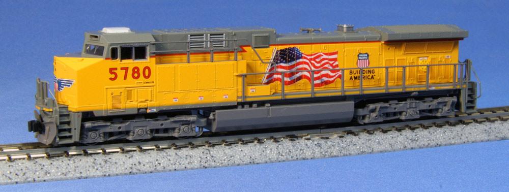 N Scale - Kato USA - 176-7007 - Locomotive, Diesel, GE AC4400CW - Union Pacific - 5780