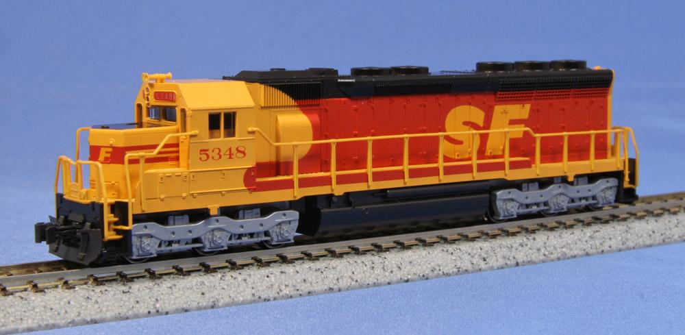 N Scale - Kato USA - 176-3122 - Locomotive, Diesel, EMD SD45 - Santa Fe - 5348