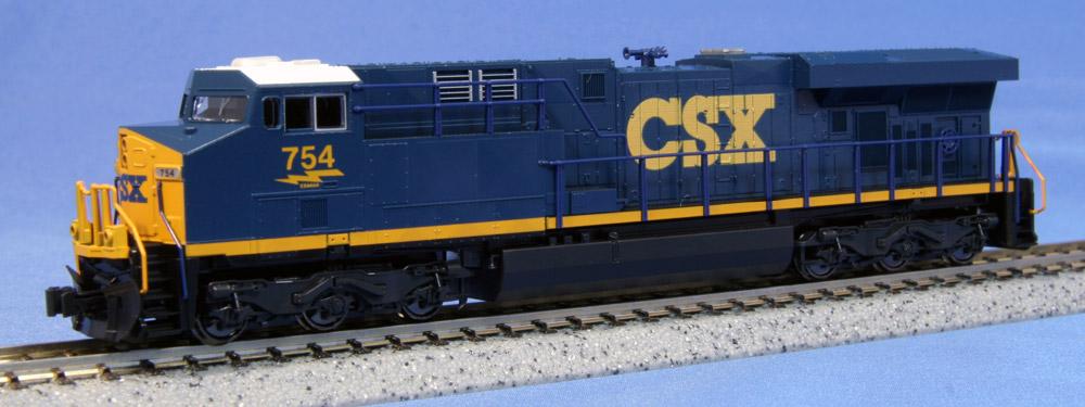 N Scale - Kato USA - 176-8907 - Locomotive, Diesel, GE GEVO - CSX Transportation - 754