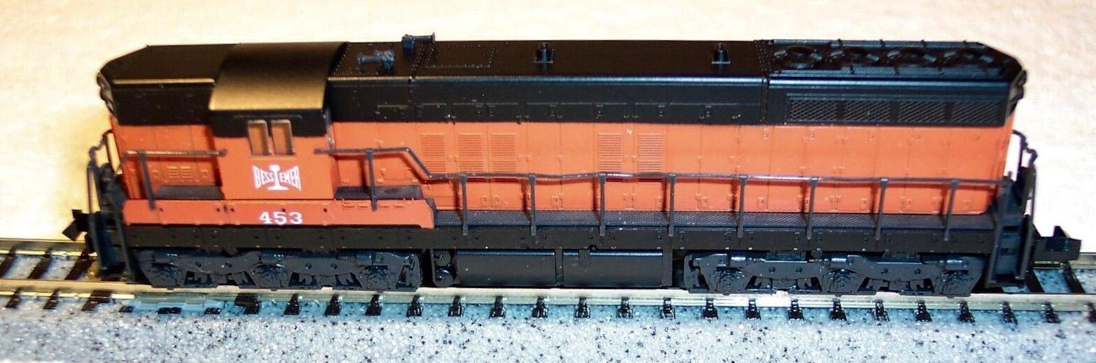 N Scale - Atlas - 4508 - Locomotive, Diesel, EMD SD7 - Bessemer & Lake Erie - 453