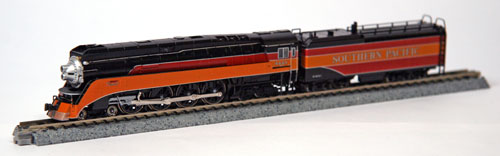 N Scale - Kato USA - 126-0301 - Locomotive, Steam, 4-8-4 GS-4 - Southern Pacific - 4449