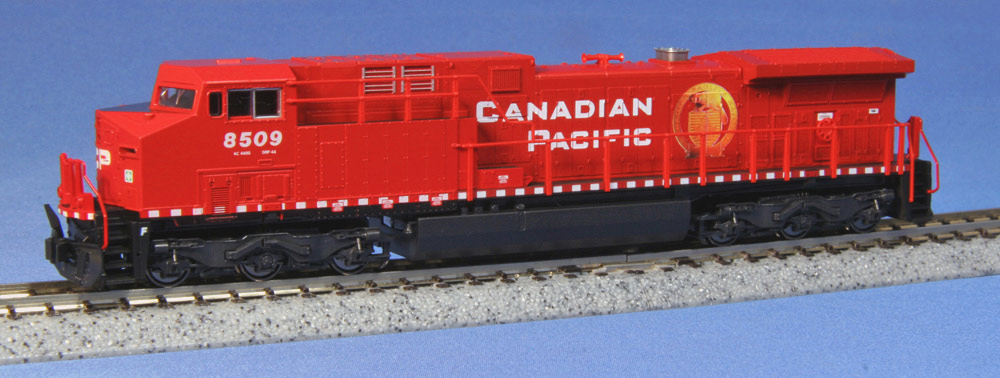 N Scale - Kato USA - 176-7215 - Locomotive, Diesel, GE AC4400CW - Canadian Pacific - 8509