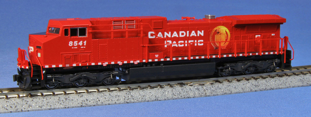 N Scale - Kato USA - 176-7216 - Locomotive, Diesel, GE AC4400CW - Canadian Pacific - 8541