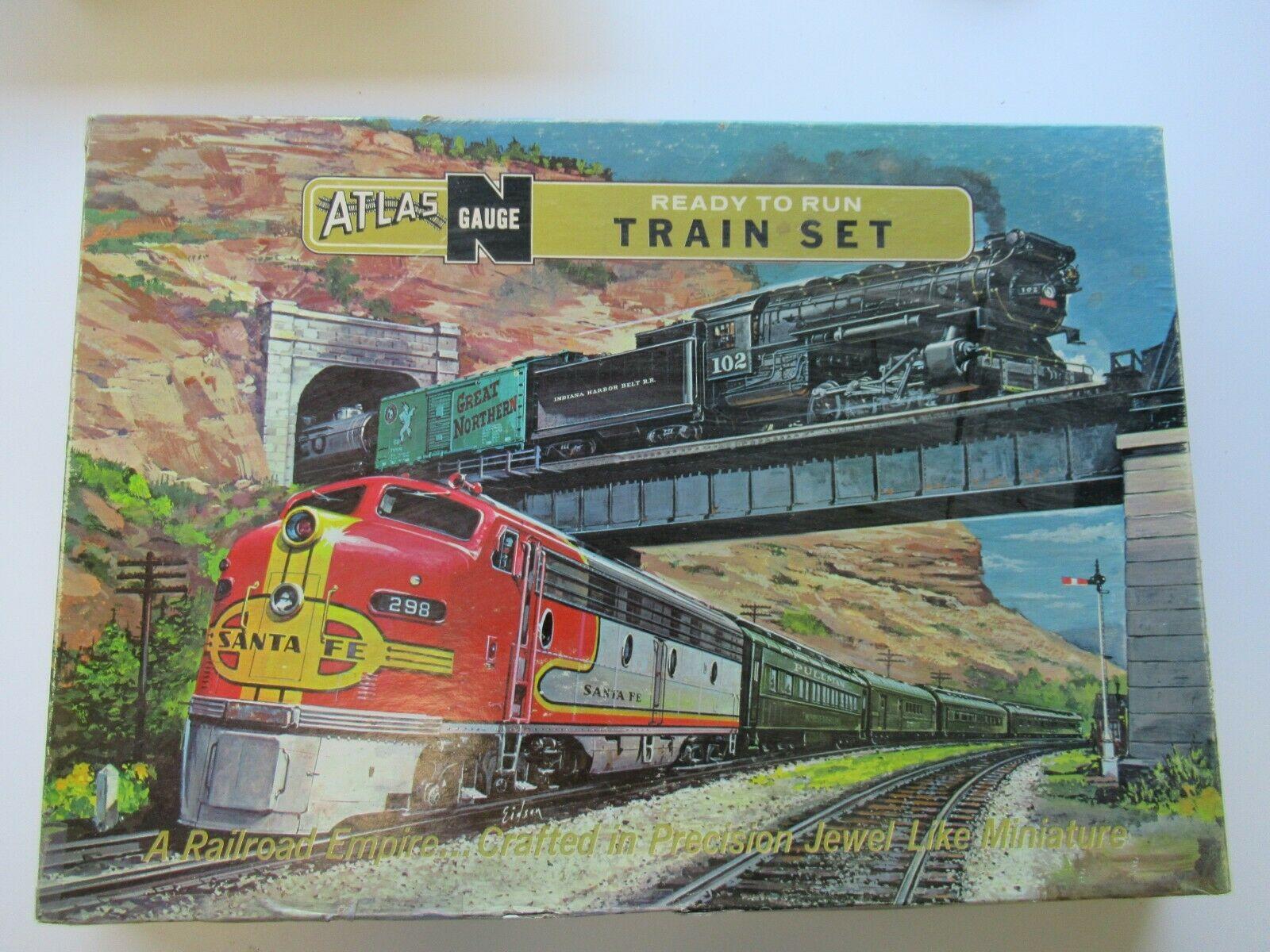 N Scale - Atlas - 2008 - Mixed Freight Consist, North America, Transition Era - Pennsylvania