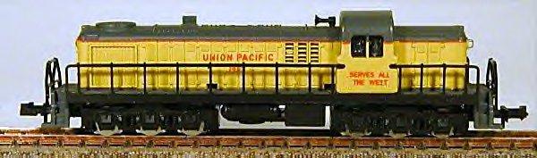 N Scale - Atlas - 2151 - Locomotive, Diesel, Alco RSC-2 - Southern Pacific - 1295