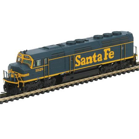 N Scale - Athearn - 16801 - Locomotive, Diesel, EMD F45 - Santa Fe - 1928