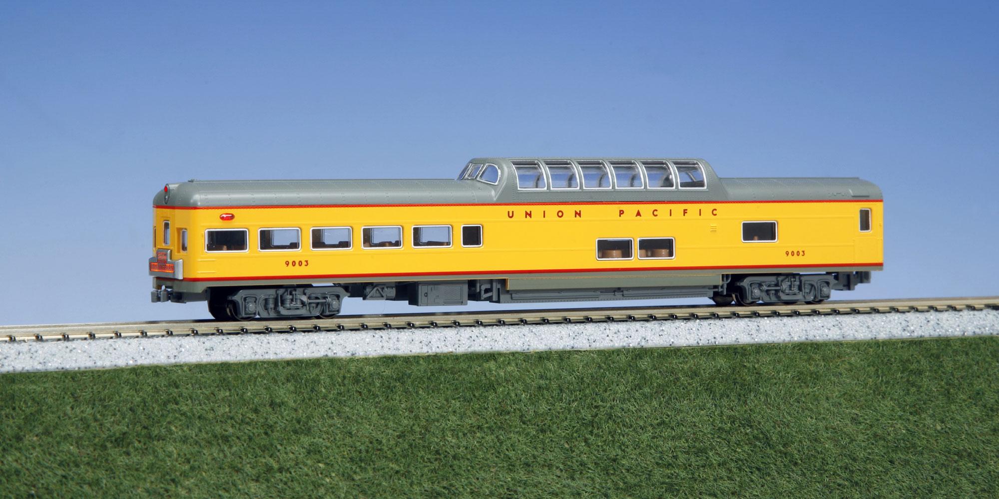 N Scale - Kato USA - 106-080-H - Passenger Car, Lightweight, ACF - Union Pacific - 9003