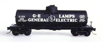 N Scale - Micro-Trains - 65080 - Tank Car, Single Dome, 39 Foot - General Electric Railcar Services - 329