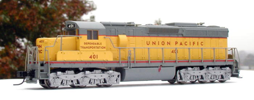 N Scale - Atlas - 54415 - Locomotive, Diesel, EMD SD24 - Union Pacific