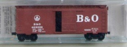 N Scale - Micro-Trains - 20310 - Boxcar, 40 Foot, PS-1 - Baltimore & Ohio - 468000