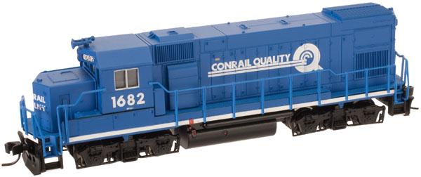 N Scale - Atlas - 52623 - Locomotive, Diesel, EMD GP15-1 - Conrail - 1682