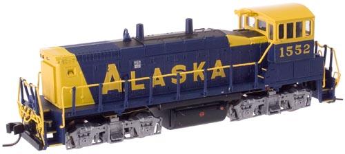 N Scale - Atlas - 52244 - Locomotive, Diesel, EMD MP15 - Alaska Railroad - 1552