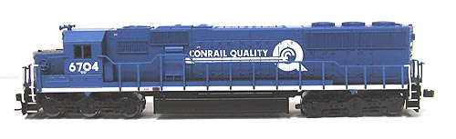 N Scale - Atlas - 49366 - Locomotive, Diesel, EMD SD50 - Conrail - 6704