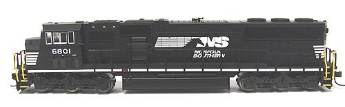 N Scale - Atlas - 49296 - Locomotive, Diesel, EMD SD60M - Norfolk Southern - 6778