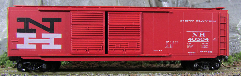 N Scale - Eastern Seaboard Models - 201002 - Boxcar, 50 Foot, PS-1 - New Haven - 40504