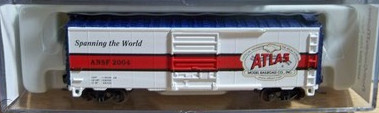 N Scale - North Country Models - ANSF 2004 - Boxcar, 40 Foot, PS-1 - Atlas Model Railroad - 76027