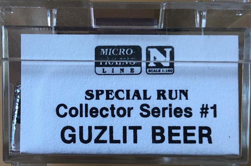N Scale - Micro-Trains - NSC 93-06 - Reefer, Ice, Wood - Guzlit Beer - 392