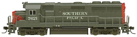 N Scale - Atlas - 48689 - Locomotive, Diesel, EMD GP40-2 - Southern Pacific - 7621