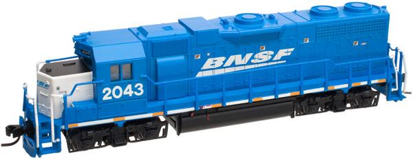 N Scale - Atlas - 40 000 367 - Locomotive, Diesel, EMD GP38 - Burlington Northern Santa Fe - 2043