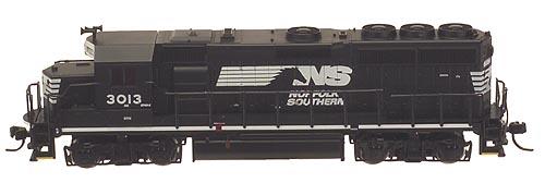 N Scale - Atlas - 48640 - Locomotive, Diesel, EMD GP40-2 - Norfolk Southern - 3021