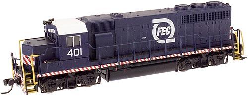 N Scale - Atlas - 53910 - Locomotive, Diesel, EMD GP40 - Florida East Coast - 401