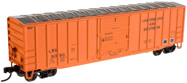 N Scale - Atlas - 20 001 822 - Boxcar, 50 Foot, ACF - Laurinburg & Southern - 5081