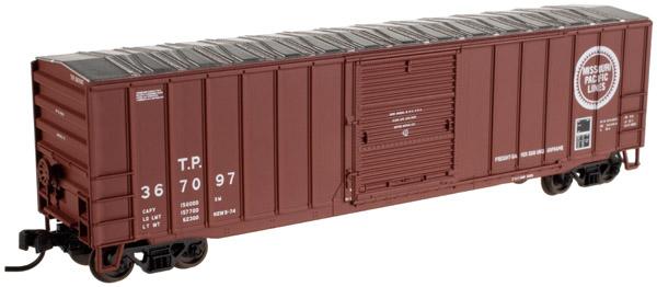 N Scale - Atlas - 20 001 825 - Box Car, 50 Foot, Single Door ACF - Missouri Pacific - 367097