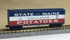 N Scale - Micro-Trains - NSC 04-01 - Reefer, Ice, Wood - Bangor and Aroostook - 5157