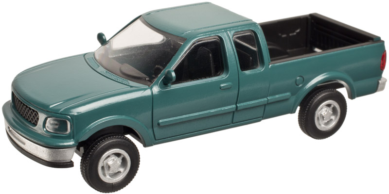 N Scale - Atlas - 2943 - Truck, Ford F-Series - 1997 Ford F-150 Super Cab