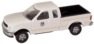 N Scale - Atlas - 2992 - Truck, Ford F-Series - Union Pacific - 1997 Ford F-150 Super Cab