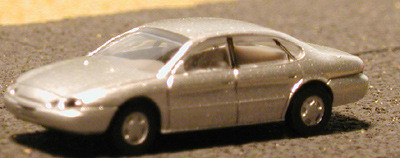 N Scale - Atlas - 2909 - Automobile, Ford, Taurus - Painted/Unlettered