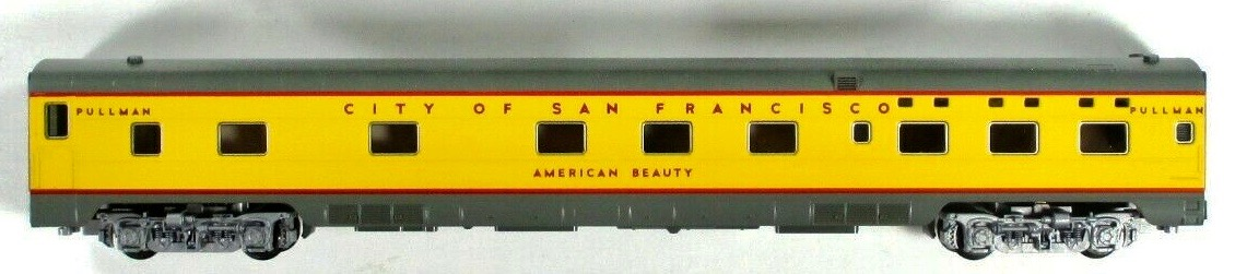 N Scale - Kato USA - 106-5011-D - Passenger Car, Lightweight, Pullman, Sleeper 6-6-4 - Union Pacific - American Beauty