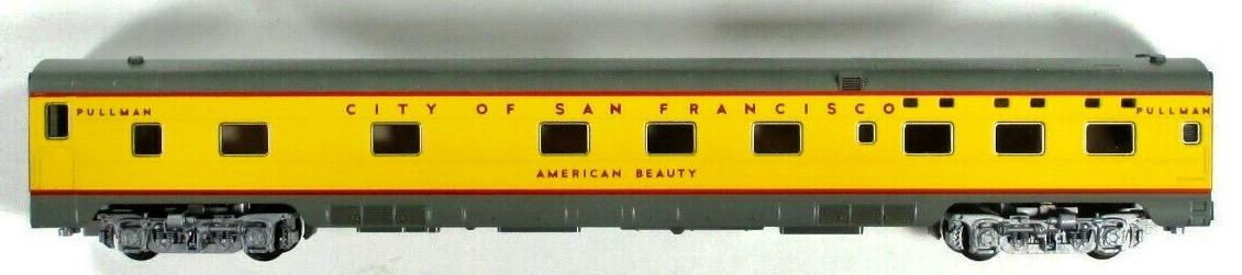 N Scale - Kato USA - 106-5011-D - Passenger Car, Lightweight, Pullman, Sleeper 6-6-4 - Union Pacific - American Beauty