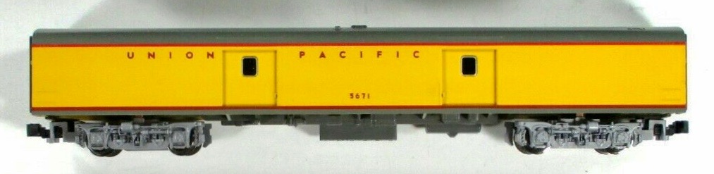 N Scale - Kato USA - 106-5011-B - Passenger Car, Lightweight, ACF - Union Pacific - 5671